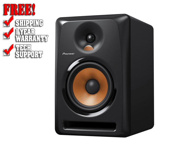 Pioneer BULIT6 6-Inch Powered Studio Monitor