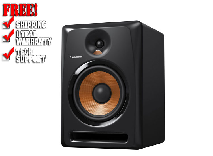 pioneer studio monitor speakers inch dj powered 123dj