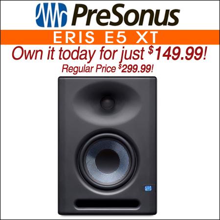 "PreSonus Eris E5 XT Two-Way Active 5"" Studio Monitor"