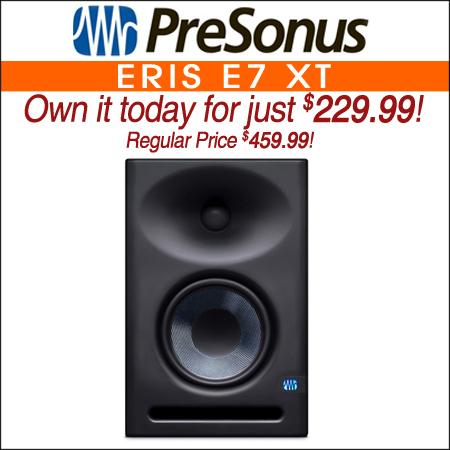 PreSonus Eris E7 XT 6.5 inch Powered Studio Monitor