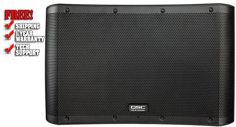 qsc kla12 active line array speaker dj speakers dj audio chicago dj equipment 123dj. Black Bedroom Furniture Sets. Home Design Ideas