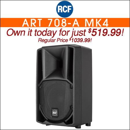 RCF DJ Speakers   DJ Audio   Chicago DJ Equipment   123DJ