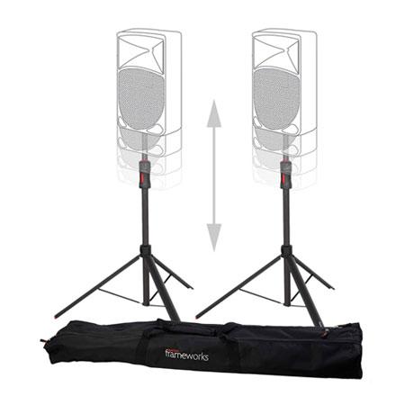 Gator GFW-ID-SPKR SET Pack Frameworks ID Series Self Lifting Speaker Stands