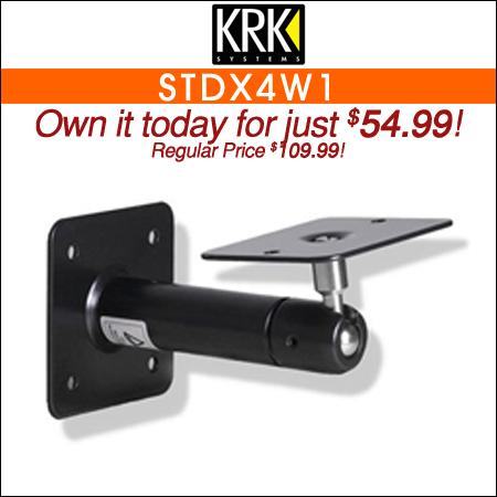 KRK STDX4W1 Wall Mount Bracket for KRK VXT4