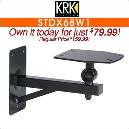 KRK STDX68W1 Wall Mount for VXT6 and VXT8