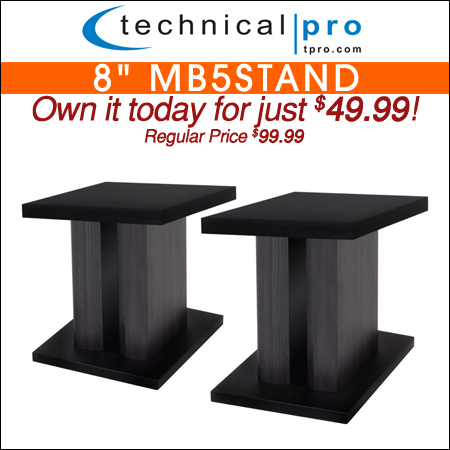 Technical Pro 8inch MB5Stand