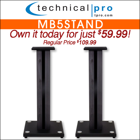 "Technical Pro 26"" MB5Stand"