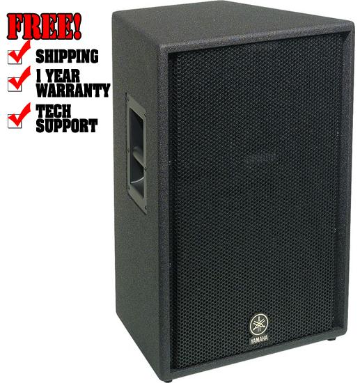 Yamaha c115v dj subwoofer dj audio chicago dj for Yamaha dj speaker