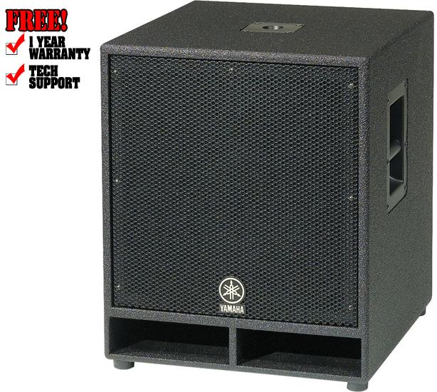 Yamaha cw118v for Yamaha dj speaker
