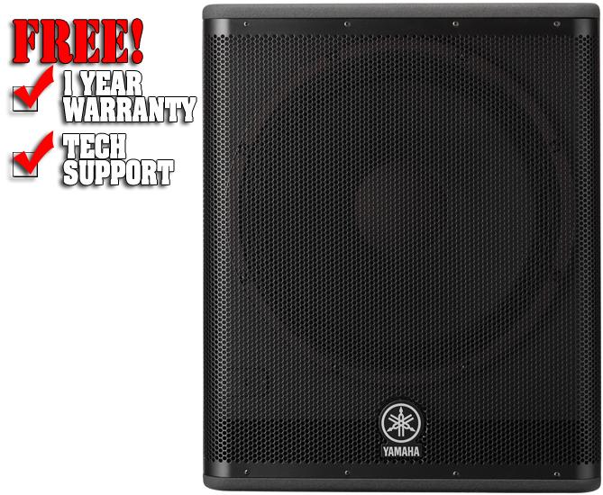 Yamaha dsr118w dj subwoofer dj audio chicago dj for Yamaha dj speaker