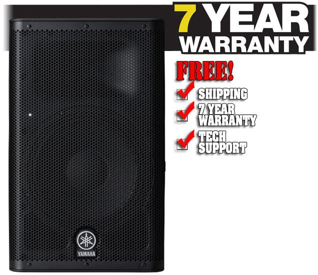 Yamaha dxr8 for Yamaha extended warranty