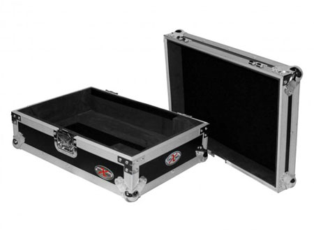 (2) Denon SC6000M Prime Media Players and X1850 Prime 4-Channel Club Mixer with Coffin Case Pro DJ Package