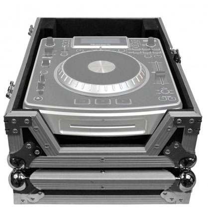 (2) Denon SC6000M Prime Media Players and X1850 Prime 4-Channel Club Mixer with ATA Cases Pro DJ Package