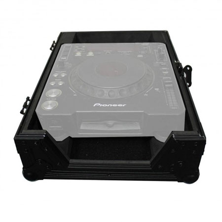 (2) Denon SC6000M Prime Media Players and X1850 Prime 4-Channel Club Mixer with Black ATA Cases Pro DJ Package
