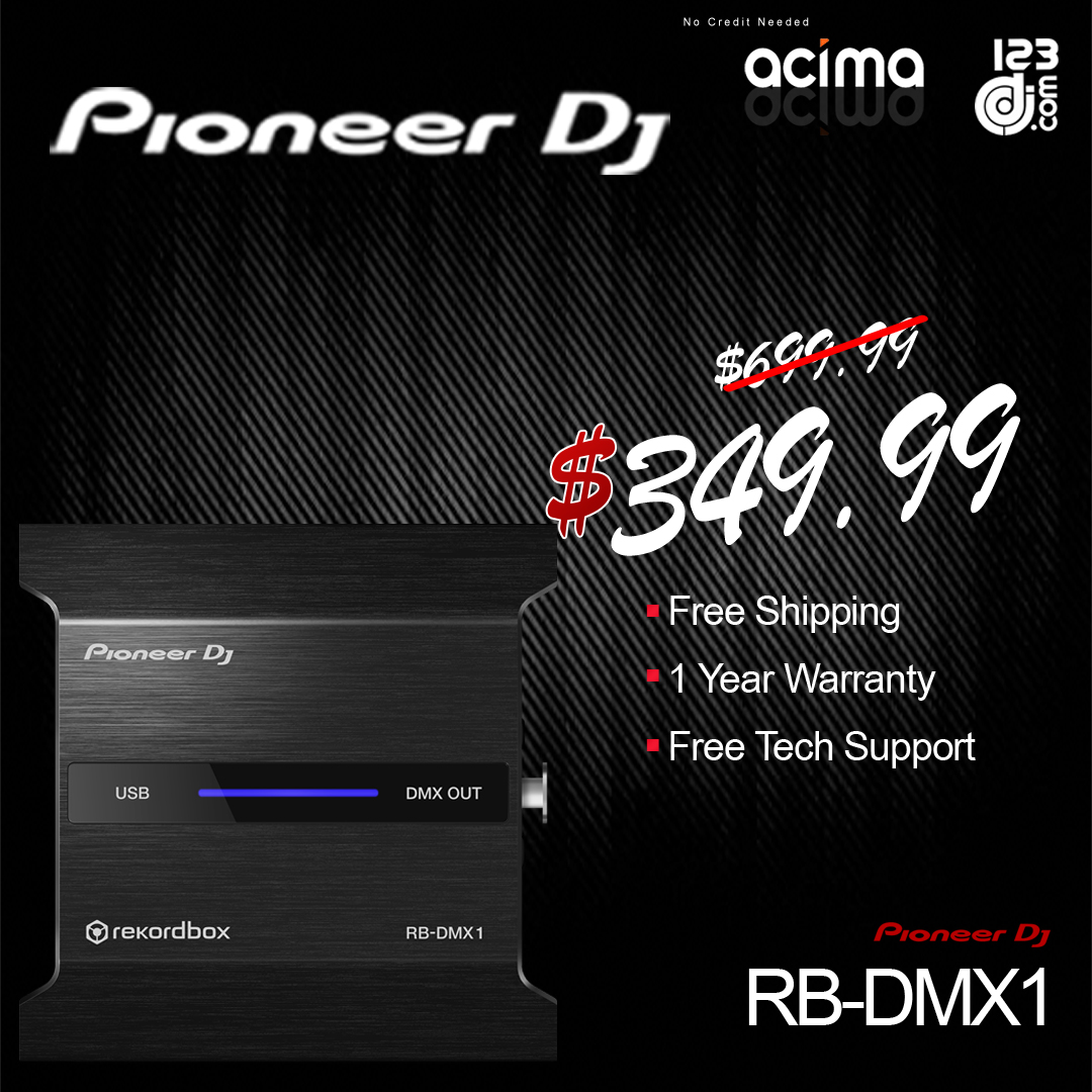 Pioneer RB-DMX1 - DMX Convertor for Rekordbox