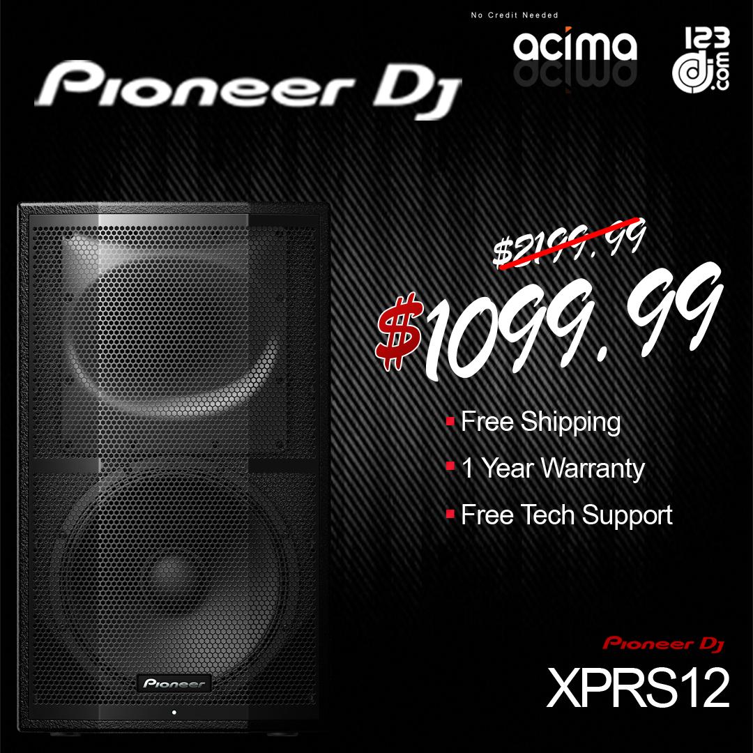 Pioneer DJ XPRS12