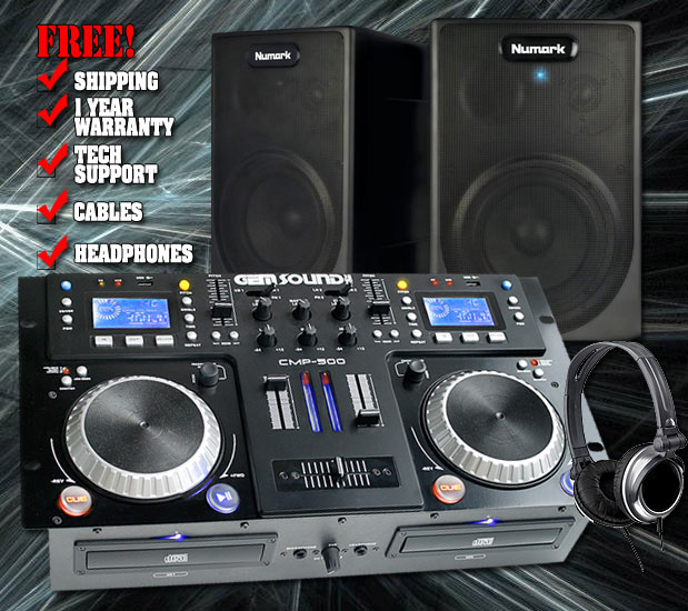 500 At Home DJ Studio Pack
