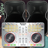 MixTrack 2 TS110A Complete DJ Package