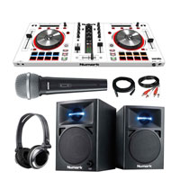 Numark MixTrack Pro III *LImited Edition* in White Starter Package