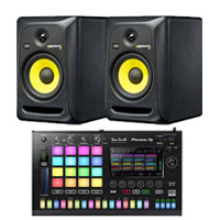 Pioneer TSP-16 Toraiz SP-16 Sampler & (2) KRK Rokit 6 G3 RP6G3 6 Powered Studio Monitors Package