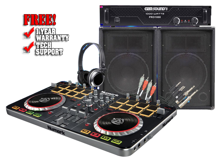 MixTrack Pro 2 Mobile Pack