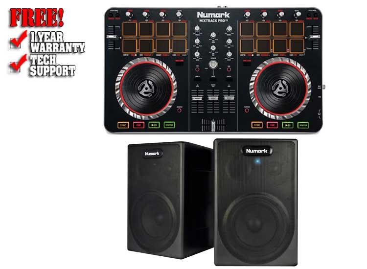 MixTrack Pro 2 Studio Pack