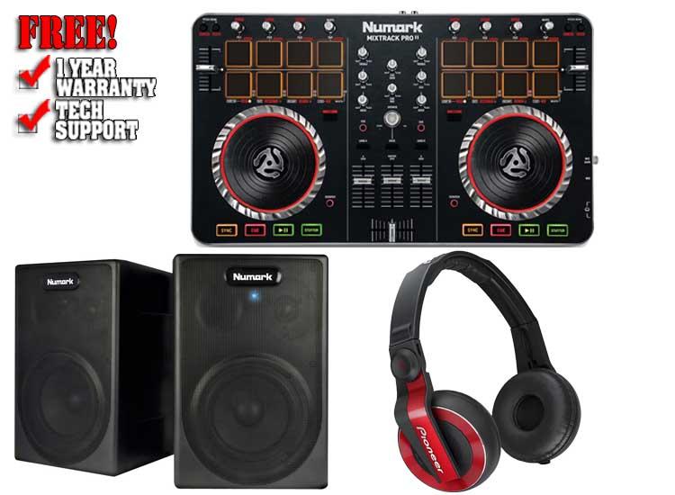 Numark At Home Studio Pack