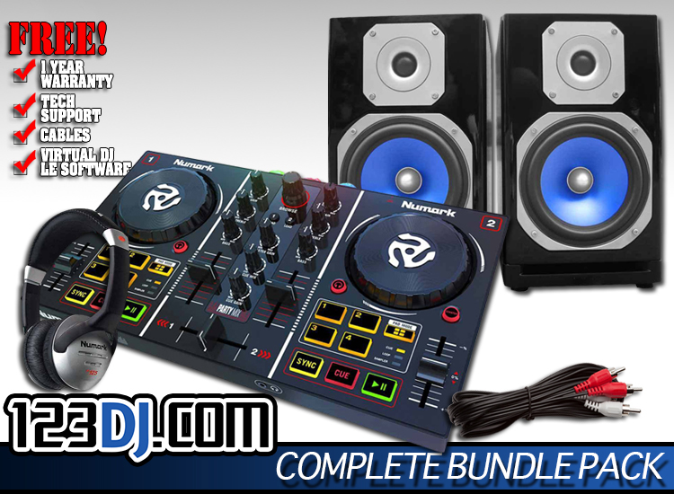 Party Mix Mobile Pack   DJ Packages   Chicago DJ Equipment