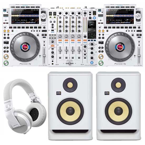 Pioneer CDJ-3000 White Pack 4