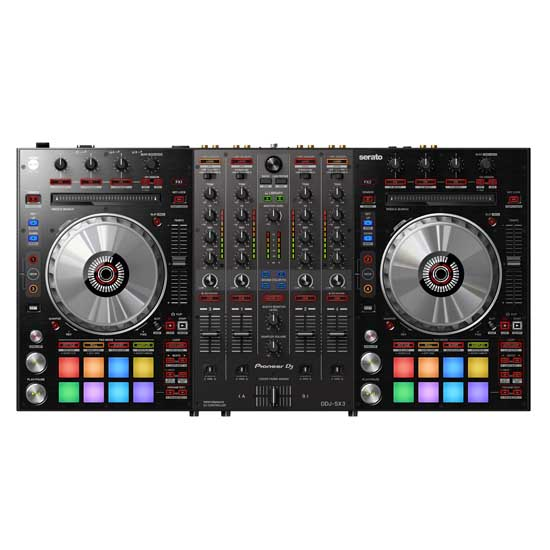 Pioneer DDJ-SX3 and QSC CP12 with Odyssey FRGSPIDDJRX Package