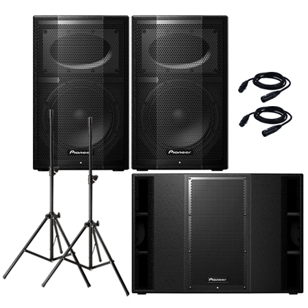 Pioneer XPRS10 & XPRS215S Pack