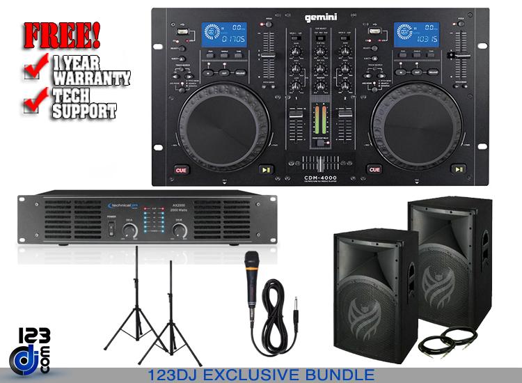 Portable DJ System