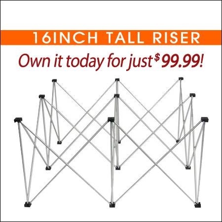 16inch Tall Riser