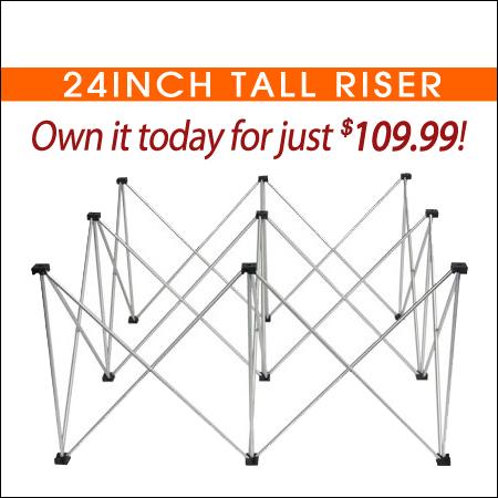 24inch Tall Riser