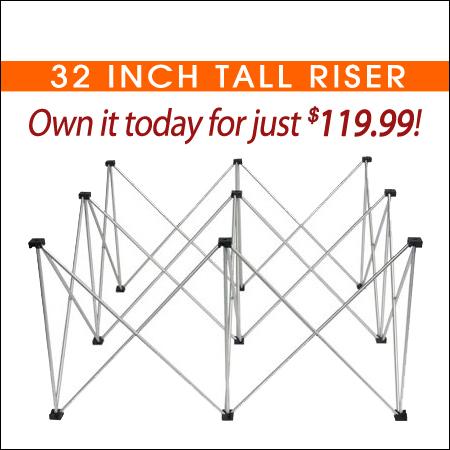 32inch Tall Riser