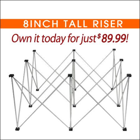 8inch Tall Riser
