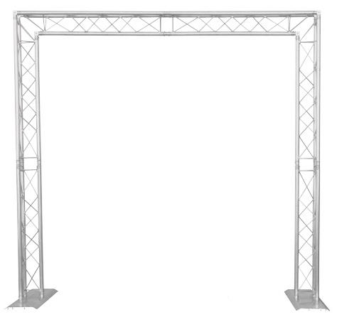Global truss goalie post package dj stands dj truss for Truss package cost