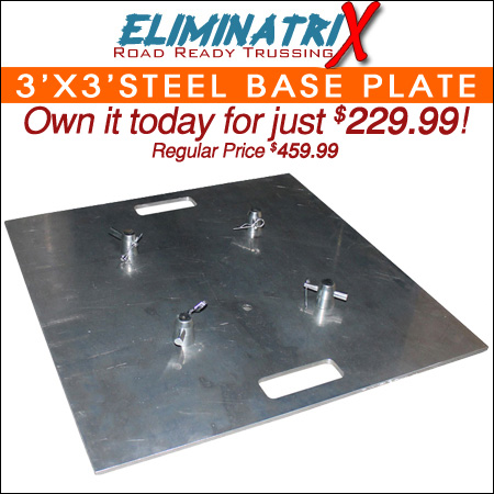 30-inch Steel Baseplate