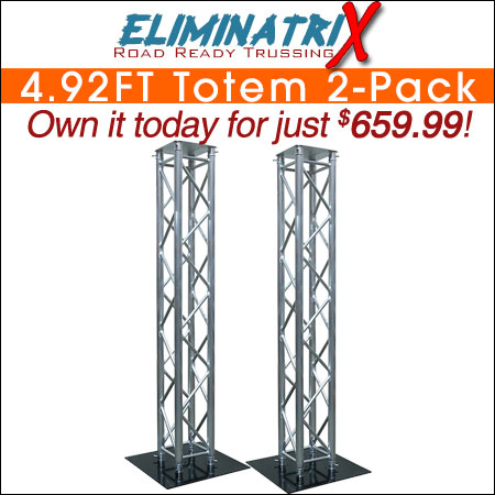 Eliminatrix 4.92FT Totem 2-Pack