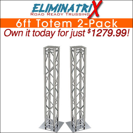 Eliminatrix 6FT Totem 2-Pack