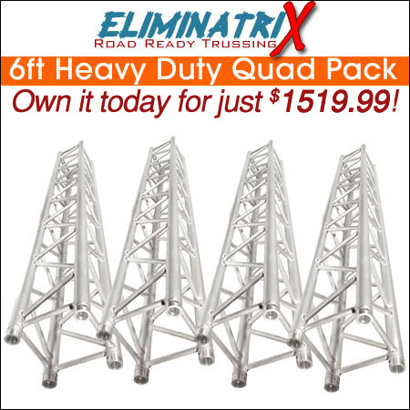 Eliminatrix 6FT Heavy Duty Quad Pack
