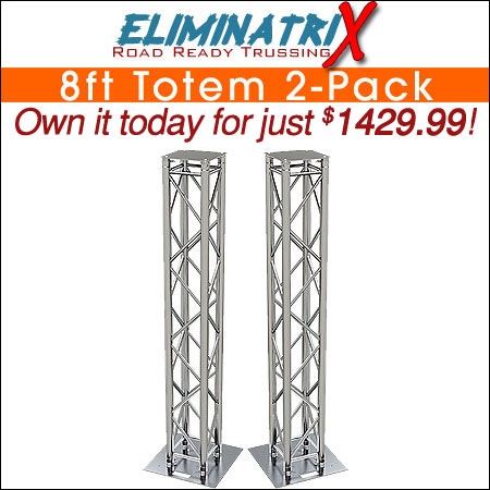 Eliminatrix 8FT Totem 2-Pack