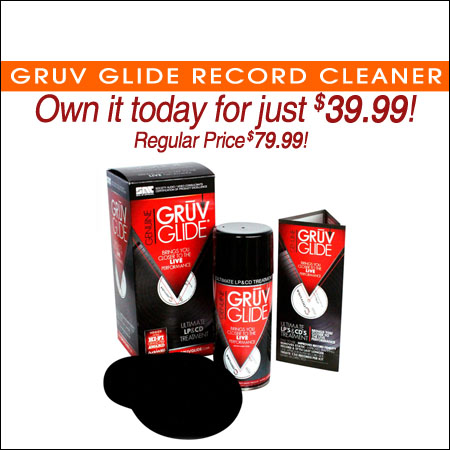 Gruv Glide Record Cleaner