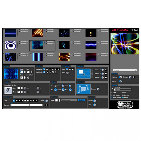 ADJ AV6X 6mm LED Video Wall 4x3 Complete System Package with Rigging Bars and Cases