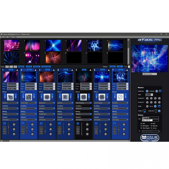 American DJ VS3 7X4 Video Panel System Featuring 28 ADJ VS3 3.91mm Pixel Pitch Video Panels