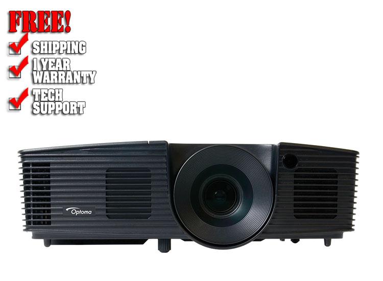 Optoma W312 Projector | DJ Video Gear | DJ Audio | 123dj com